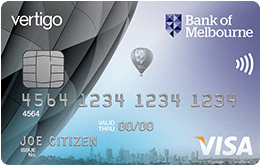 Vertigo credit card
