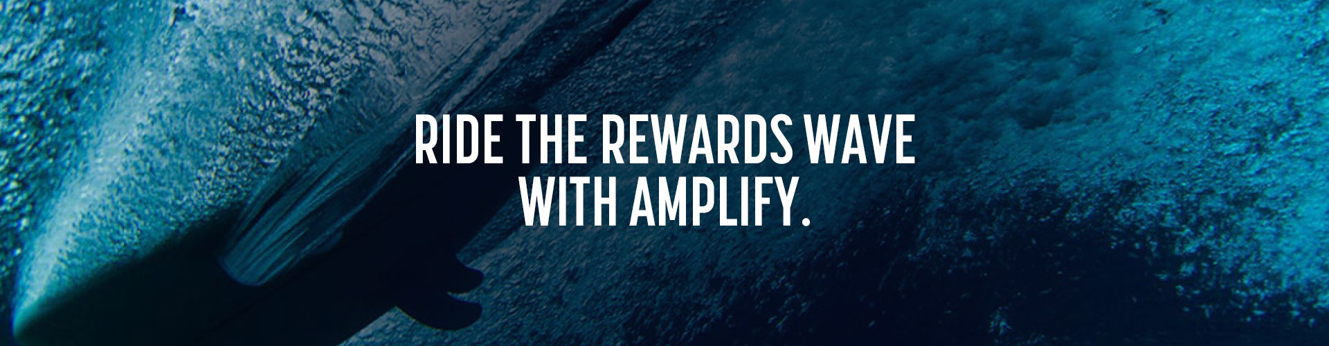 Ride the rewards wave with Amplify.