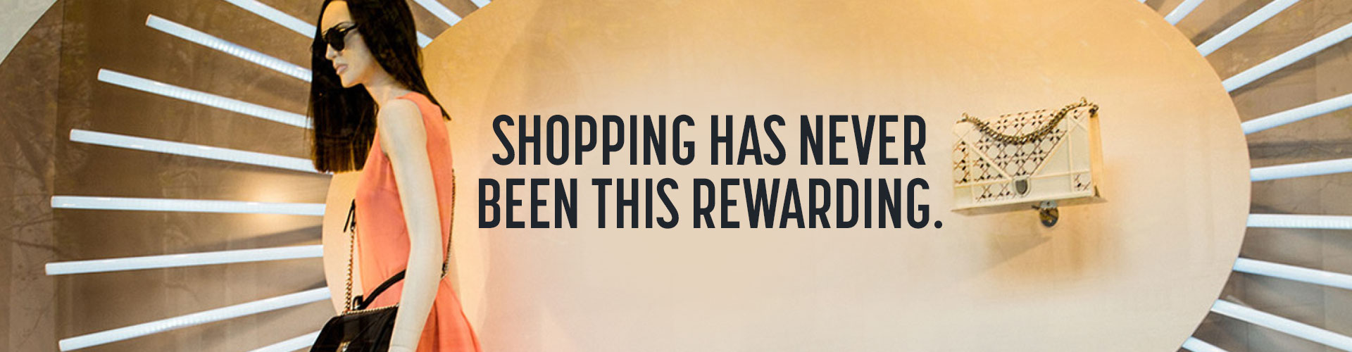 Shopping has never been this rewarding.