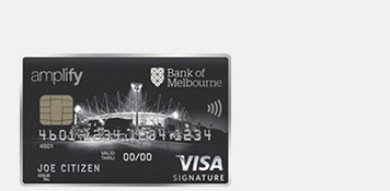 Credit cards low rate and reward cards bank of melbourne amplify rewards points reheart Images
