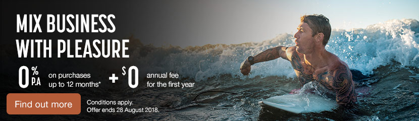 0% interest on purchases for 12 months and $0 annual fee for the first year. Conditions Apply. Find out more.