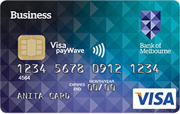 Business credit cards bank of melbourne businessvantage credit card reheart Gallery