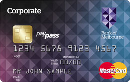 Corporate mastercard connections online bank of melbourne the corporate mastercard brings a new level of efficiency to corporate card use and reporting assisted by internet technology you are able to monitor card reheart Gallery