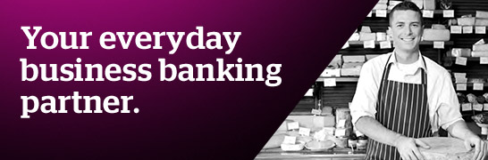 Your everyday business banking partner